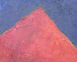 Cerro rojo 50 x 55 cm